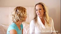 Moms Teach Sex Mom and not Her Daughter Teen Boyfriend - more at www.MyFapTime.com