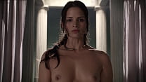 Katrina Law - Exposing herself to a bathing Lucy Lawless for examination- (uploaded by celebeclipse.com)