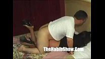 midget sucking and taking in big cock part 2