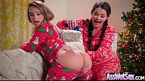 (Allie Haze & Harley Jade) Huge Butt Oiled Girl Enjoy Anal Hardcore Intercorse clip-06