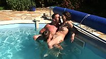 Amateur anal sex with Maria and her son's friends breaking it