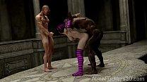 Dark Rituals. 3D Fantasy Gangbang