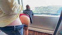 business trip risky hotel window sex - business bitch