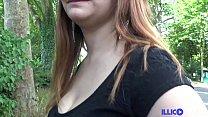 Julie, 19 ans se fait défoncer devant son voisin