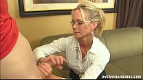 Naughty Mature Lady Loves Jerking
