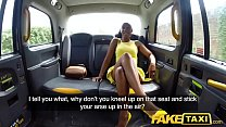 Fake Taxi Lovely ebony beauty Lola Marie empties cabbies balls