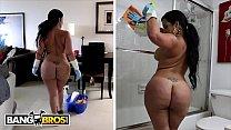 BANGBROS - My Dirty Maid Destiny Slams Her Cuban Big Ass On My Cock