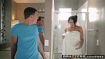 Brazzers - Mommy Got Boobs - Save The Tits scene starring Reagan Foxx and Jessy Jones