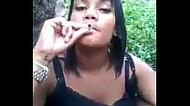 Bro deceives sister smoke weed and ducked in the trees