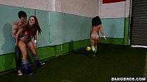 Booty Soccer with Remy LaCroix and Jada Stevens