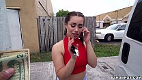 Scooping Up a Sexy Chonga with a Big Ass in Miami, FL (bb15113)