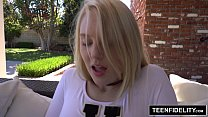 TEENFIDELITY Lily Radar First Creampie Ever