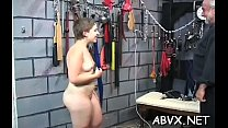 Divine chick is fucked with a marital-device
