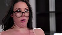 GIRLSWAY - Kira Noir teaching an annoying commenter! feat. Angela White