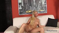 Blonde Teen Savannah Hill Dildo Fuck