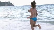 bouncing beach boobs