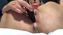 Horny Wife Closeup Dildo Play With Creamy Orgasm Quick Fuck Big Squirt