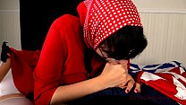 Slutty Red Riding Hood Blowjob