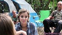 Camping teens get nailed
