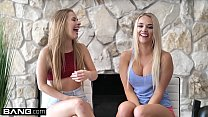 Bang Confession - Alexis Monroe & Lily Ford fuck the pizza guy