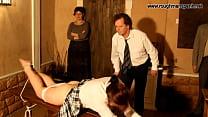 Brutally ritual of spanking 2