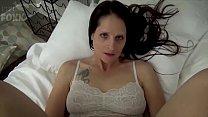 Mom & Son Share a Bed - Mom Wakes Up to Son Masturbating - POV, MILF, Family Sex, Mother - Christina Sapphire