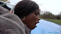 Public Agent British Ebony Queen Kiki Minaj Fucked Outside
