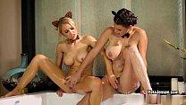 CrushGirls - Peta Jensen and Alix Lynx are horny in the bubble bath