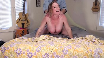 Screaming Orgasm Creampie Filled Pregnant Hairy Pussy - BunnieAndTheDude