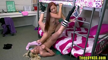 Annoyed busty babysitter punished a wild tiny Asian teen