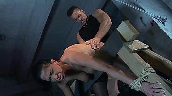 Slave Auction:story of the black widow. Andy Moon. Part  2. Her new owner continued to treating her hard, and fucks her mouth and cut roughly.