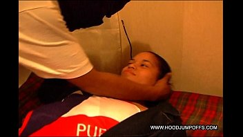 HOODJUMPOFFS: LATINA TEEN GETS THROAT FUCKED & ABUSED IN AMATEUR VIDEO